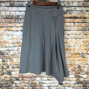 Athleta Gray Maxi Skirt